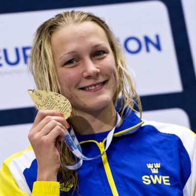 Sarah Sjöström vid kortbane-EM 2013