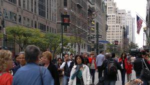 Turist i New York