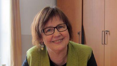 Ulla Granfors rektor Vasa övningsskolas gymnasium
