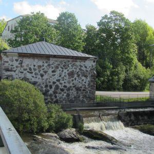 Sjundbyforsen invid Sjundby slott i Sjundeå.