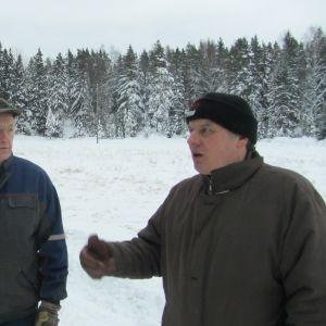 Anders Holmberg och Lennart Biström