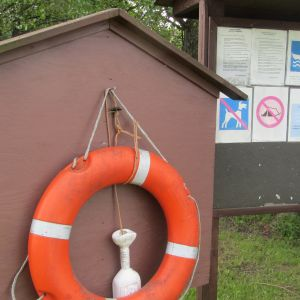 Simstranden vid Hasselholmen i Borgå