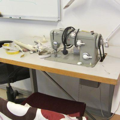 Symaskinen är användbar, trots sin höga ålder