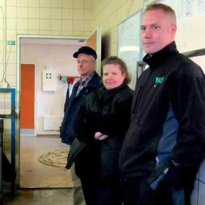 Kjell-Erik Lall, Johanna Nyman och Ulf Hagner.