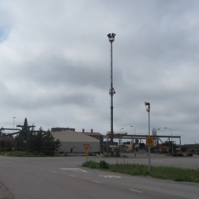FN-steels fabrik i Koverhar