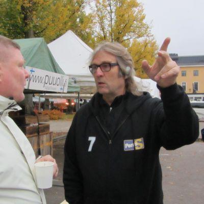 Kalle Helenius, Sannf. i Borgå