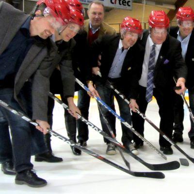 Startskottet gick för Den blåa boken i samarbete med Vaasa Sport och Brynäs If