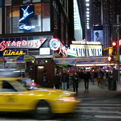 Mamma Mia på Broadway i New York