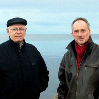 Johan Stoor och Lasse Skog