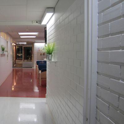 Psykiatriska enheten vid Vasa centralsjukhus i Sandviken.