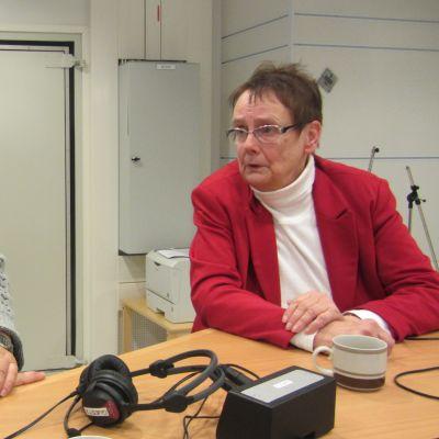 Johannes Runeberg och Lena Selén.