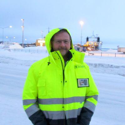 Hamndirektör Teijo Seppelin
