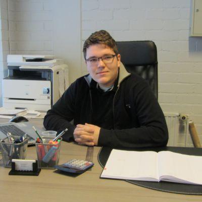 Chris Nylund från Ideal-Auto i Karis.
