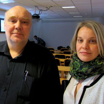 Stig Johan Westergård och Katarina Eklund