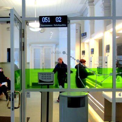 VR:s biljettkassa i Vasa
