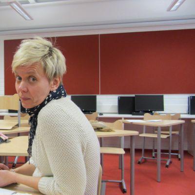 Inger Damlin är biträdande rektor vid Borgaregatans skola i Vasa