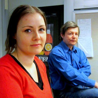 Magdalena Lindroos och Juhani Hallasmaa