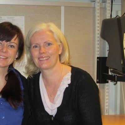 Pernilla Lindblad och Monika Koskinen