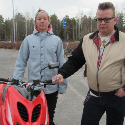 Viljan Laurila och Janne Smeds