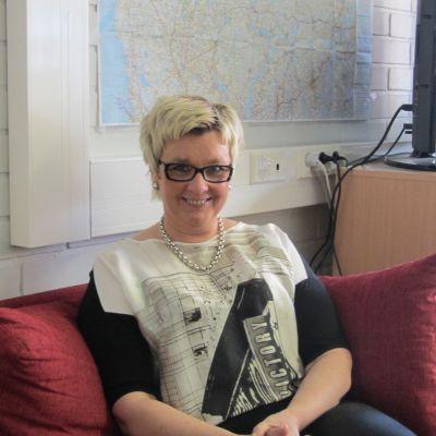 Lisbeth Bäck är med i Bukklubben