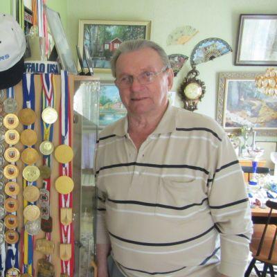 Erik Eriksson, veteran-vm, veteranidrott