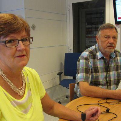 Kersin Ståhlberg och Leif Stenwall