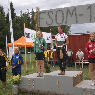 Sara Forsström, FSO-mästare 2013.