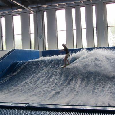 Surfmaskinen i Sirius Sport Resort