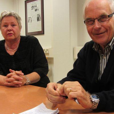 Lili-Ann Junell-Kousa och Frey Karlsson.
