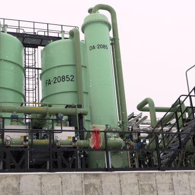 Invigning av Neste Oils återvinningsanläggning i Sköldvik