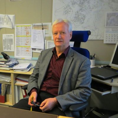 Stadsingenjör Risto Lindblad i Borgå
