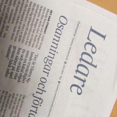 Västra Nylands ledare 19.2.2014