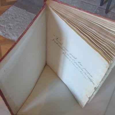 Gästboken på Svartå slott