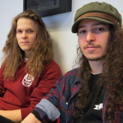 Lost Societyn Samy Elbanna ja Arttu Lesonen.