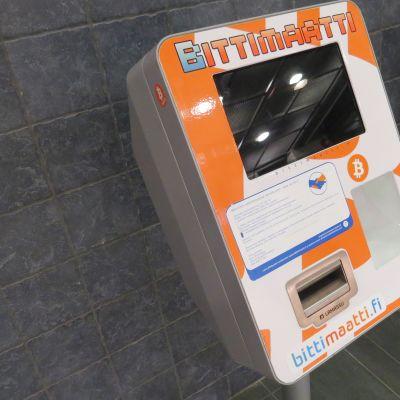 Bitcoin-automaatti.