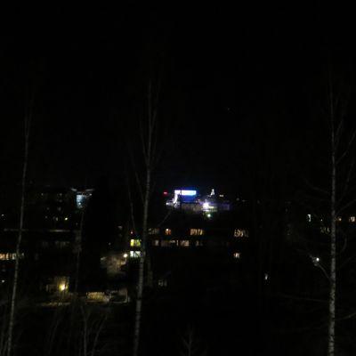 Kuopion keskusta pimeni.