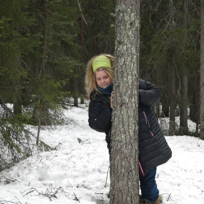 metsäinsinööri Janette Backman