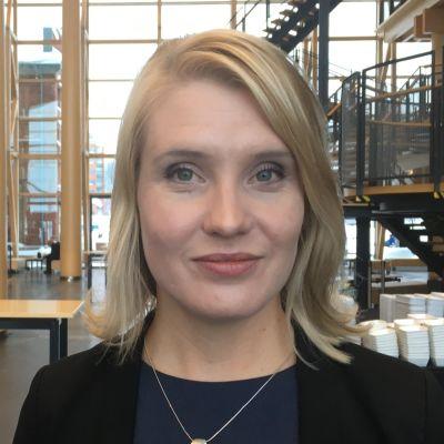 Päijät-Hämeen maakuntajohtaja Laura Leppänen tammikuussa 2019