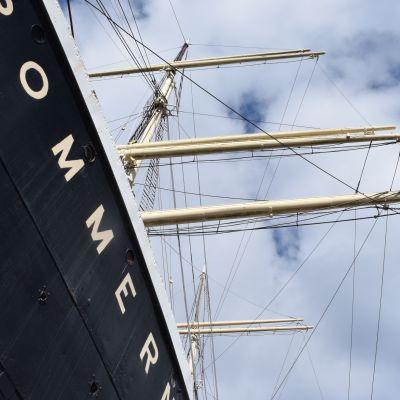 Gustaf Eriksonin aikana Pommern kulki ahkerasti Euroopan ja Australian väliä