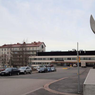 Lahden kaupunginsairaala.
