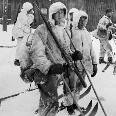 Finnish ski troops played a crucial role during the Winter War.