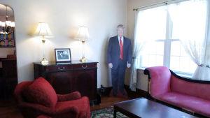 Donald Trumps första barndomshem i New York hyrs ut på Airbnb..