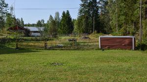 Malena Blomqvists gård på bild