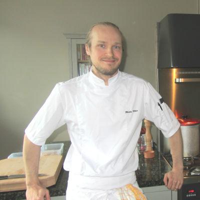 Restaurangägare Mikko Utter.