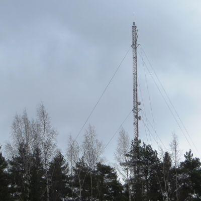 Telemasten på Jonasbacken i Borgå