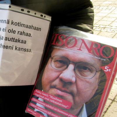 tidningsförsäljning