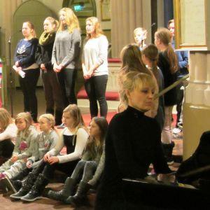Cecilia von Haartman i Lovisa kyrka