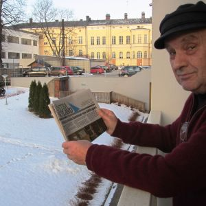 Östra Nylands tidigare chefredaktör Kim Wahlroos utreder intresset för en ultralokaltidning