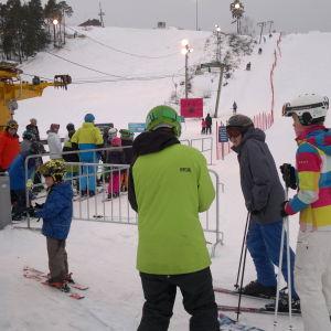 Hirvensalo slalombacke