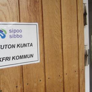 Sibbo - rökfri kommun.